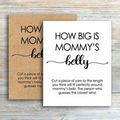 How Big is Mommy's Belly Game, Rustic Baby Shower Games Printable, Gender Neutral, Kraft Guess the Belly Size Mom Mommys Tummy Game Baby Shower Signs, Baby Boy Shower, Baby Shower Diaper Game, Mom Tummy, Diaper Messages, Who Knows Mommy Best, Late Night Diapers, Virtual Baby Shower, Baby Shower Parties