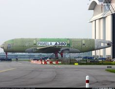 PAMELA: Scrapping the Giant Airbus A380 Static Test Article