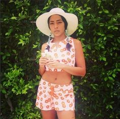 Princess Nokia Stays Centered By Getting Naked And Collecting Seashells