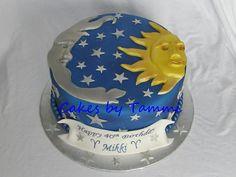 Sun Moon &amp Stars  Cakes By Tammi cakepins.com