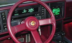 Utterly Bitchen Car Dashboards Inspired By Spaceships Subaru Xt, Digital Dashboard, Fiat Uno, Chevrolet Cavalier, Aston Martin Lagonda, Lincoln Town Car, Car Brochure, Buick Gmc, Cadillac Fleetwood