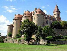 Chateau Pommiers en Forez, France