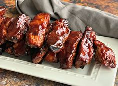 Pepper BBQ Ribs are Country Style Pork Ribs, slow cooked in Dr. Pepper, then baked to caramelize the Dr. Slow Cooker Ribs, Slow Cooker Recipes, Crockpot Recipes, Cooking Recipes, Smoker Recipes, Grilling Recipes, Cooking Tips, Slow Cooking, Slow Cooked Meals