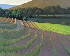 """Ian Roberts, Home from the Abbey - Oil on canvas, 24"""" x 30"""""""