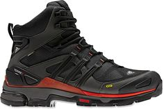 Adidas Terrex Fast X Mid GTX Hiking Boots: Gore-tex, waterproof, lightweight, breathable, moisture wicking lining, durable, great traction, solid ankle support and foot protection.