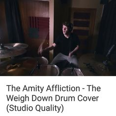"""So I had some technical difficulties with the video but my new cover of The Amity Afflictions """"The Weigh Down"""" is now up!! Please check it out like share and subscribe :) [Link is in my Bio]  #adamjohnsondrums #hahnaudio #theamityaffliction #theweighdown #drumcover #drums #drumporn #drummer #drummers #guyswhodrum #drumming #sabian #zildjian #pearl #staymetal by adam_outbreak"""