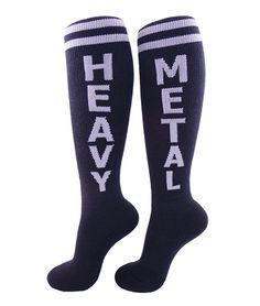 Heavy Metal Knee High Socks