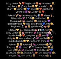 Noms Snapchat, Cute Snapchat Names, Snapchat Nicknames, Funny Nicknames For Friends, Cute Nicknames, Funny Contact Names, Cute Names For Boyfriend, Emoji Combinations, Friend Anime