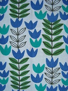 vintage scandinavian fabric