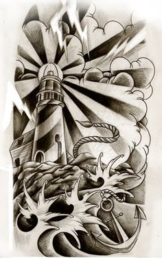 Lighthouse commission by *WillemXSM on deviantART