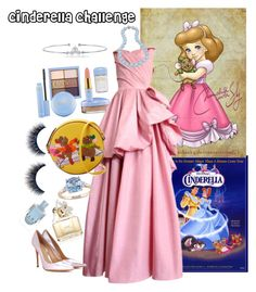 """""""cinderella/ cinderella challenge"""" by beautytime101 ❤ liked on Polyvore featuring Christian Dior, Gianvito Rossi, Olympia Le-Tan, Bling Jewelry, Miadora and Marc Jacobs"""