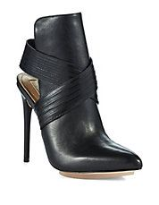 Leather Booties by BCBGMAZAZRIA