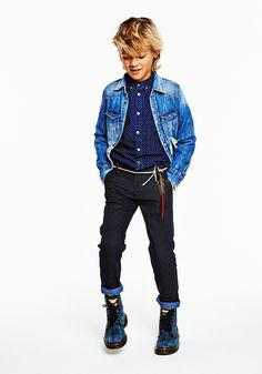 TDB kids - Scotch Shrunk ~ Amsterdams Blauw