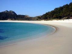 Praia de Rodas, Illas Cies / Cies Islands, Galicia, España / Spain