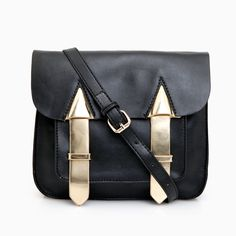 Gold Arrows Cross Body Bag