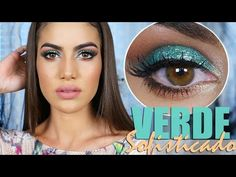 Maquiagem Verde sofisticado - YouTube
