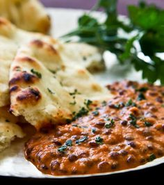 Indian Dal Nirvana, a creamy lentil dish perfect over basmati rice or mopped up with naan flatbread.