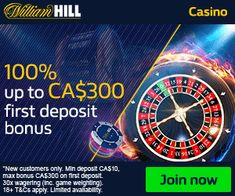 William Hill Casino Club Deposit Bonus