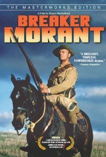 Breaker Morant (motion picture) 1980.  Breaker Morant offers a compelling portrayal of the famous trial, with stellar performances by Edward Woodward as Harry Morant and Jack Thomson as his attorney, Major Thomas.  The movie is based on George Witton's book Scapegoats of the Empire, and definitely takes Morant's side in the controversy.