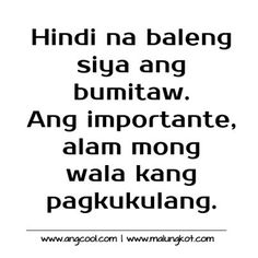 Tagalog Love Quotes And More Love Quotes Tagalog Love Quotes