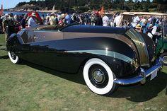A french Touch of class  Un RR. Phantom III dessinée par Labourdette en 1938    AMARULLA