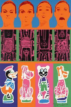 Eduardo Paolozzi' pop art prints at Yorkshire Sculpture Park Cultura Pop, Eduardo Paolozzi, James Rosenquist, Neo Dada, Yorkshire Sculpture Park, Pop Art Movement, Claes Oldenburg, Park Art, Wallpaper Magazine