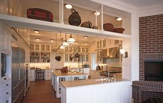"""From architect Robert A. M. Stern, the kitchen of a home in Southampton, NY. Found it in AD's """"Kitchens by the AD 100""""..."""