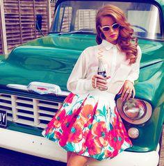 Lana Del Ray #Retro Style #stylecrush