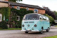 Images of Lola, our duck-egg blue vintage VW camper, providing wedding transport and event hire in  Manchester, Sheffield, Leeds and across the  north-west photo by http://www.lowisphotography.co.uk/