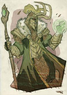 Loki Fantasy Re-design by ~DenisM79