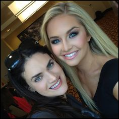 Got to #dollup the #gorgeous @missteenusa she's #adorable! Watch #missusa tonight on #nbc #makeupbyme #makeup #mudbeauty #pageant #pageantmakeup #cosmetics #blonde #blueeyes #smokyeyes #nudelips #nofilter #highlighting #contouring #greatlighting #beauty #theperfectface #danielledoyle #theperfectface
