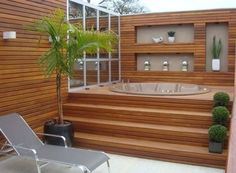 hot tub deck These swim spa and Jacuzzi designs for your backyard we have found can be adapted to the space you want to install them into and the overall dcor and feel from your style of d Jacuzzi Outdoor, Outdoor Baths, Outdoor Spa, Hot Tub Deck, Hot Tub Backyard, Inflatable Hot Tub Reviews, Whirlpool Deck, Spa Rooms, Small Pools