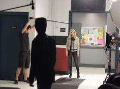 """Behind the scenes of """"The Vampire Diaries"""" 2x02 Brave New World #TVD"""