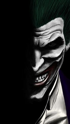 Joker Dark Dc Comics Villain Artwork Wallpaper in The Incredible Joker Cartoon Wallpaper Joker Cartoon, Joker Comic, Joker Batman, Joker Art, Joker Villain, Batman City, Joker Dc Comics, Dark Comics, Batman Wallpaper