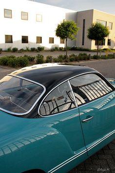 Karmann Ghia...love the color combination