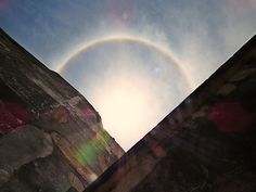 Halo solar | 2014 Carpe Diem, Solar, Celestial, Outdoor, Clouds, Sky, Outdoors, Outdoor Games, The Great Outdoors