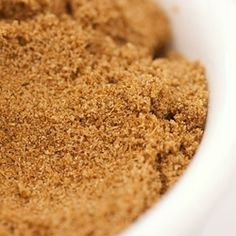 Cumin's very distinctive flavor possesses a warm, spicy-sweet and somewhat bitter taste and is a very popular spice in countries that enjoy spicier foods. Spicy Recipes, Vinaigrette, Glaze, Mustard, Spices, Sweet, Desserts, Food, Eten
