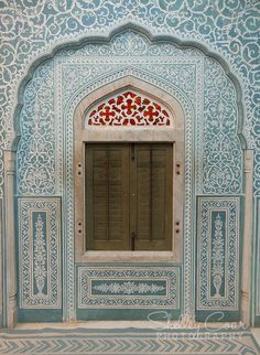The inside window of Samode Palace, India. India Architecture, Beautiful Architecture, Architecture Details, Beautiful Buildings, Interior Architecture, Architecture Sketches, Architecture Wallpaper, Gothic Architecture, Ancient Architecture