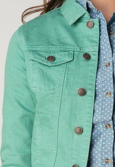 Charlize Mint Green Jacket