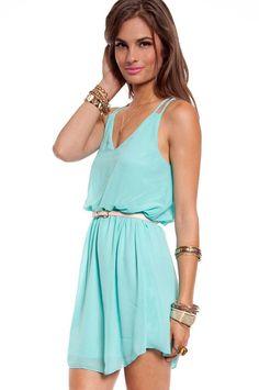 Mint Tank Dress