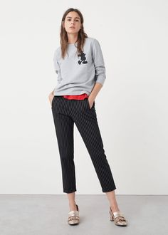 Mickey mouse sweatshirt | MANGO