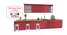 Simsational Designs: Shaker Kitchen-UPDATED