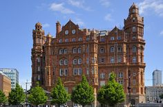 Image detail for -Midland Hotel entrance, Manchester, England, United Kingdom, Europe