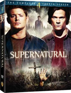 Supernatural: The Complete Fourth Season DVD ~ Jared Padalecki, Supernatural Imagines, Supernatural Dean, Supernatural Season 4, Supernatural Poster, Supernatural Bloopers, Supernatural Wallpaper, Castiel, Supernatural Workout, Supernatural Merchandise