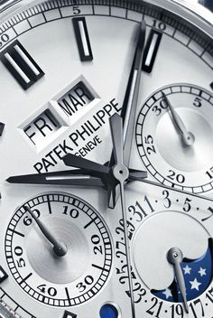 Patek Philippe – The Most Beautifully Complicated Mechanical Watches.