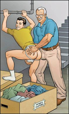 Fat gay grandpa spank hoyt gets a spanking