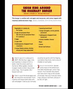lexesnextdoor ✨ Bobs Burgers Recipes, Sandwich Recipes, Bob S, Fancy Desserts, Recipe Boards, Red Apple, Copycat Recipes, Nom Nom, Sandwiches