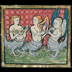 Florentine writer Brunetto Lattini explains what mermaids are in his Book of Treasures.