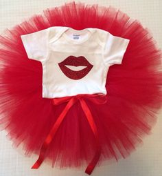 Valentines tutu outfit  on Etsy, $30.00