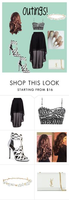 """Out and About"" by elysse-r on Polyvore featuring BKE, Kendall + Kylie, Robert Rose and Yves Saint Laurent"